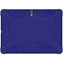 Amzer 97214 Silicone Skin Jelly Case - Blue for Samsung GALAXY Tab S 10.5