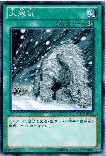 【 遊戯王 カード 】 《 大寒気 》(ノーマルレア)【リターン・オブ・ザ・デュエリスト】redu-jp065
