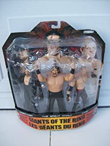 WWE Giant of The Ring Undertaker The Great Khali Kane by Jakks Pacific