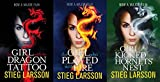 STIEG LARSSON STIEG LARSSON 3 BOOK SET COLLECTION MILLENIUM TRILOGY SERIES THE GIRL WITH THE DRAGON TATTOO THE GIRL WHO PLAYED WITH FIRE & THE GIRL WHO KICKED THE HORNETS NEST