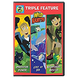 Wild Kratts: Triple Feature: Predator Power, Lost at Sea, and Rainforest Rescue DVD