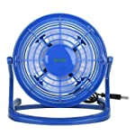 iKross Mini Desktop USB Fan-Blue