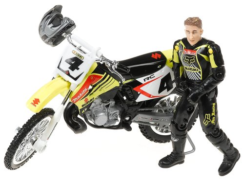 MXS Ricky Carmichael Yellow #4 MX-Motorcycle - Buy MXS Ricky Carmichael Yellow #4 MX-Motorcycle - Purchase MXS Ricky Carmichael Yellow #4 MX-Motorcycle (MXS, Toys & Games,Categories,Play Vehicles,Vehicle Playsets)
