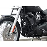 Protection Guard one piece from tube 38 mm, conical form, black for Harley Davidson Dyna Modelle ab