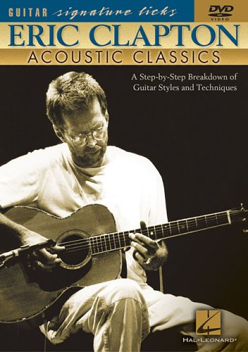 Cover art for  Hal Leonard Eric Clapton - Acoustic Classics (DVD)