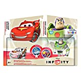 Disney Infinity TRU Exclusive Race to Space Pack with Crystal Lightning McQueen, Buzz Lightyear with C.H.R.O.M.E. Damage Increaser and Zurg's Wrath Power Discs (Xbox 360/PS3/Nintendo Wii/Wii U/3DS)