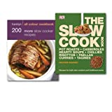 DK Slow Cooker Recipes Collection Books Set, (Hamlyn All Colour Cookbook: 200 More Slow Cooker Recipes & [Hardcover] The Slow Cook Book)