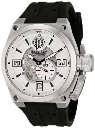 Ballast Men's BL-3129-02 Valiant Analog Display Japanese Automatic Black Watch