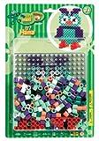 Hama 8923 - Maxiperlenset Eule, circa 250 Bügelperlen, 1 Stiftplatte und Bügelpapier von Hama