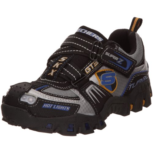 Skechers Deflecktord-Turbo S Sports Car Light-Up Super Z (Little Kid/Big Kid)