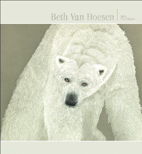 Beth Van Hoesen  2014 Wall Calendar