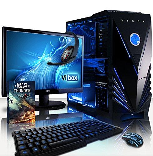 VIBOX Submission Paket 29XL - 4.2GHz Acht 8-Core, GTX 960, Wasser Gekühlt, Extreme Leistung, Gamer, Desktop Gaming PC, Computer mit WarThunder Spiel Bundle, 22