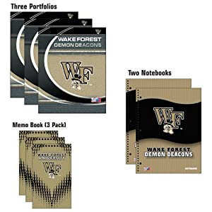 Buy Turner Wake Forest Demon Deacons Nondated Combo Pack (8140277) by Turner