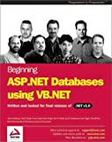 img - for Beginning ASP.NET Databases using VB.NET book / textbook / text book
