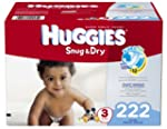 Huggies Snug and Dry Diapers, Size 3,...