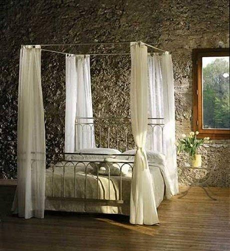 metallbetten am besten himmelbett toscana metall bett 120 x 200. Black Bedroom Furniture Sets. Home Design Ideas