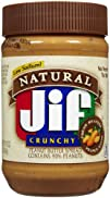 Jif Natural Crunchy Peanut Butter Spr…