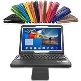 MoKo Samsung Galaxy Tab 3 10.1 Keyboard Case - Wireless Bluetooth Keyboard Cover Case for Samsung Galaxy Tab 3 10.1 Inch Android Tablet, BLACK