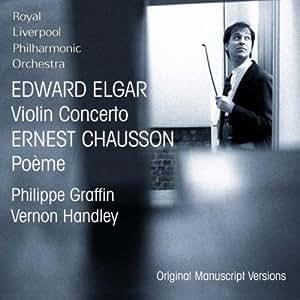 Elgar : Violin Concerto, Chausson : Poème