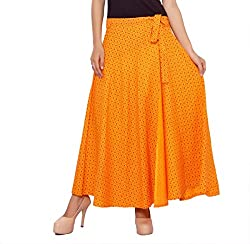 ceil women skirt (saffron yellow)