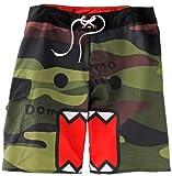 Domo-Kun Domo Face Camouflage Board Shorts   34