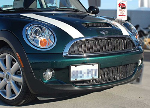 MINI Cooper Front License Plate Frame No Holes 2002-2014 (Mini Cooper Front License Bracket compare prices)