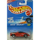 #597 Buick Wildcat Candy Apple Red 7-Spoke Wheels Collectible Collector Car Mattel Hot Wheels