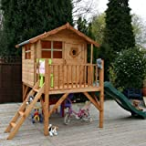 Tulip Playhouse with Tower and Slide