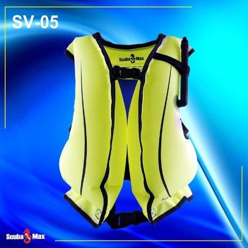 New Economical ScubaMax Snorkeling Jacket Vest (Size Adult Regular)