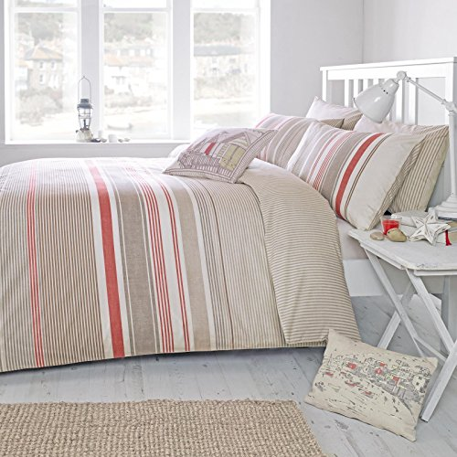 terracotta-reversible-striped-cotton-blend-duvet-quilt-cover-set-with-matching-pillowcases-super-kin