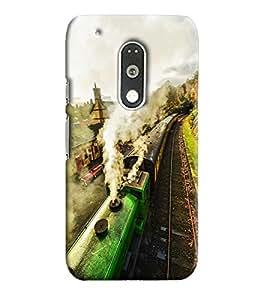 Blue Throat Printed Designer Back Cover For Motorola Moto G4 Play