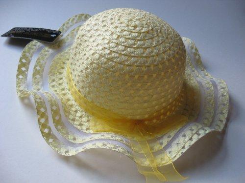 Baby Girl Yellow Summer Hat