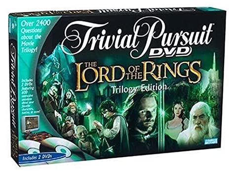 Trivial Pursuit DVD Game The Lord of the Rings Edition