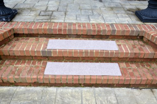 Dean Indoor Outdoor Non Skid Carpet Stair Treads Color Beige 36 X 9 4