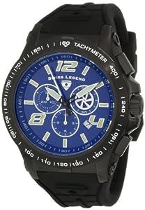 Swiss Legend 10040-BB-03 - Reloj de pulsera hombre, caucho, color negro
