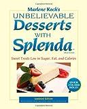 Marlene Koch's Unbelievable Desserts with Splenda Sweetener