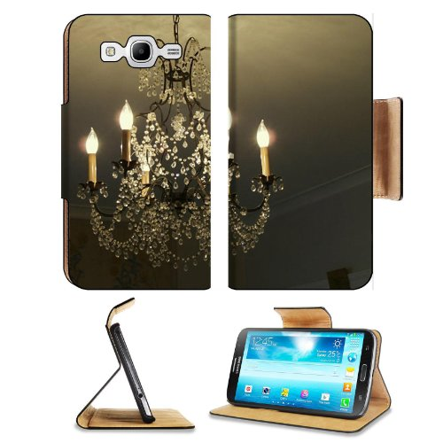 Fancy White Chandelier Rich Room Samsung Galaxy Mega 5.8 I9150 Flip Case Stand Magnetic Cover Open Ports Customized Made To Order Support Ready Premium Deluxe Pu Leather 6 1/2 Inch (165Mm) X 3 2/5 Inch (87Mm) X 9/16 Inch (14Mm) Msd Mega Cover Professional front-973424
