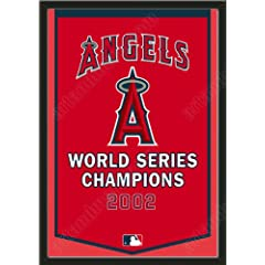 Dynasty Banner Of Los Angeles Angels-Framed Awesome & Beautiful-Must For A... by Art and More, Davenport, IA