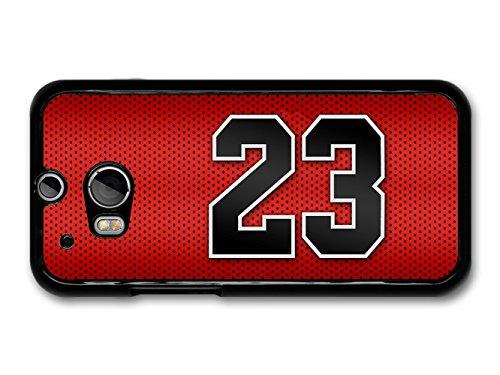 michael-jordan-mj-number-23-basketball-red-background-custodia-per-htc-one-m8