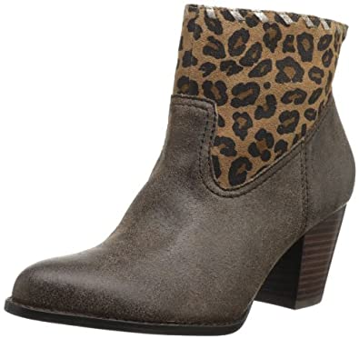 nicole Women's Babylon Bootie,Dark Brown,6 M US