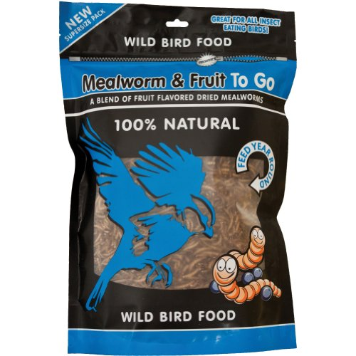 Cheap Unipet WB150 Mealworms and Fruit To Go, 500 Gram (WB150)