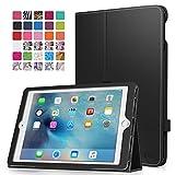 iPad Pro 9.7 ケース - ATiC Apple iPad Pro 9.7インチタブレット専用薄型スタンドケース。BLACK(iPad Pro 12.9 2015/iPad air 2に適応ない)