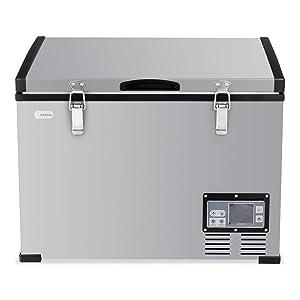 COSTWAY Portable Compressor Refrigerator/Freezer, 100-Quart