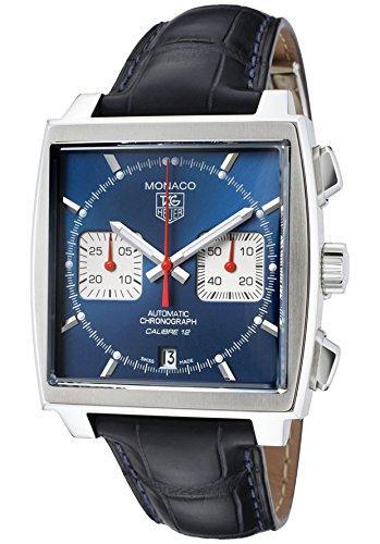 tag-heuer-hommes-de-montre-chronographe-automatique-monaco-en-cuir-bleu-fonce