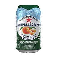 San Pellegrino Sparkling Fruit Beverages, Clementina/Clementine 11.15-ounce cans (Total of 24)