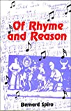 img - for Of Rhyme and Reason: My Lyrics and Other Loves book / textbook / text book