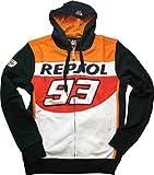 【 マルク・マルケス 】 MOTO GP REPSOL レプソル オフィシャル スポンサー フードパーカースウェット (L身幅:55cm 着丈:68cm)