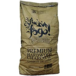 Fogo FHWC35LB 35-Pound All Natural Premium Hardwood Lump Charcoal Bag