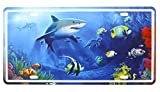 FLY SPRAY Landscape Animals Fish Shark Decorative Signs Tin Metal Iron Sign Painting For Wall Home Office Bar Coffee Shop