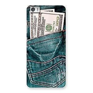 Impressive Full Dollar Jeans Back Case Cover for Xiaomi Redmi Mi5